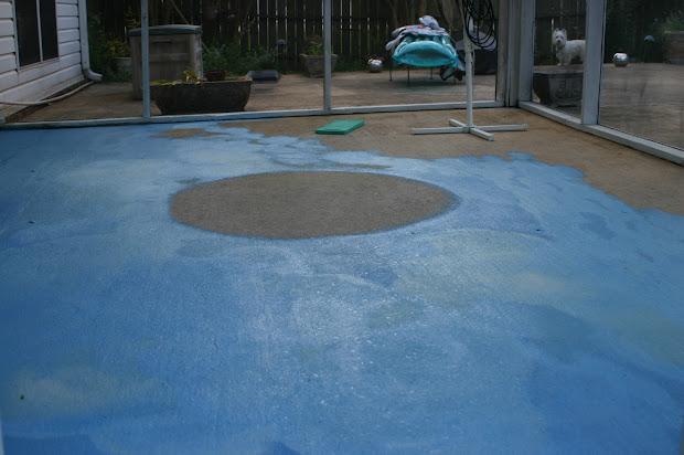 Painting Patio Concrete