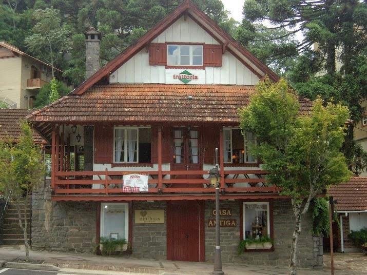Casa Antiga, no Centro de Gramado