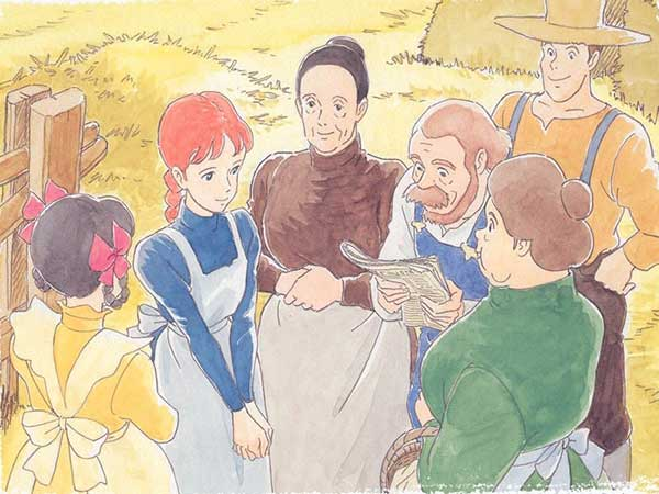 Anne of green gables - keluarga