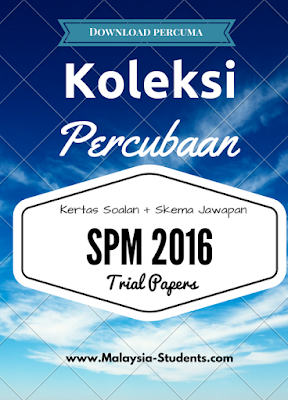 Pendidikan Moral SPM 2016 Trial Papers