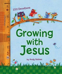 growing with jesus cover