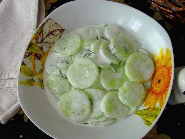 Немецкий огуречный салат (Gurkensalat)