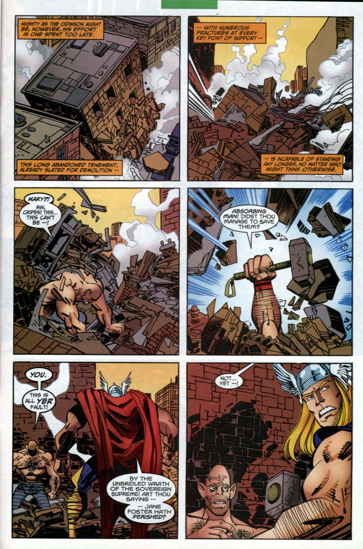 Thor (1998) Issue #27 #28 - English 21