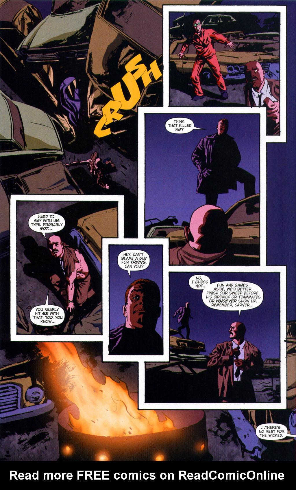 Read online Sleeper comic -  Issue #9 - 24