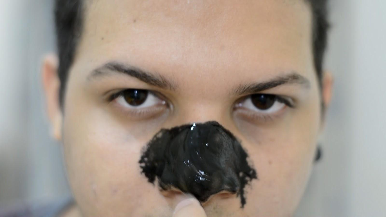 Mascara Preta Removedora de Cravos Pilaten