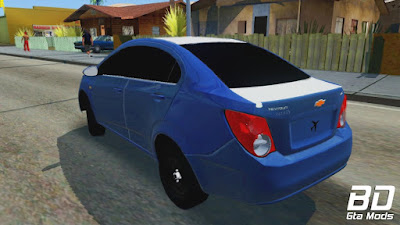Mod carro para GTA San Andreas Chevrolet Sonic - Beta , GTA SA