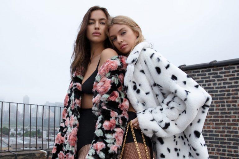 Irina Shayk & Stella Maxwell for The Kooples Fall/Winter 2018