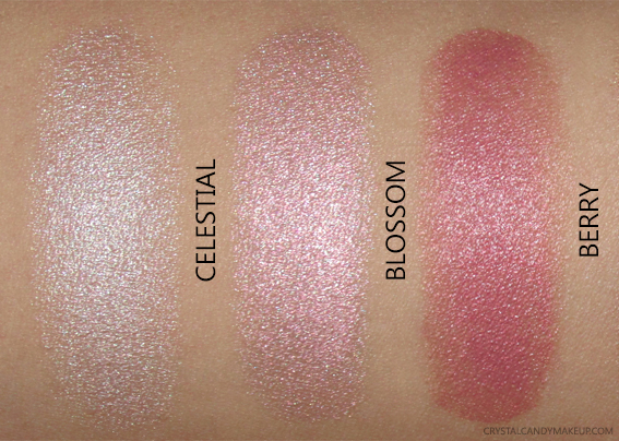 Cover FX Enhance Click Highlighter Swatch Berry Blossom Celestial