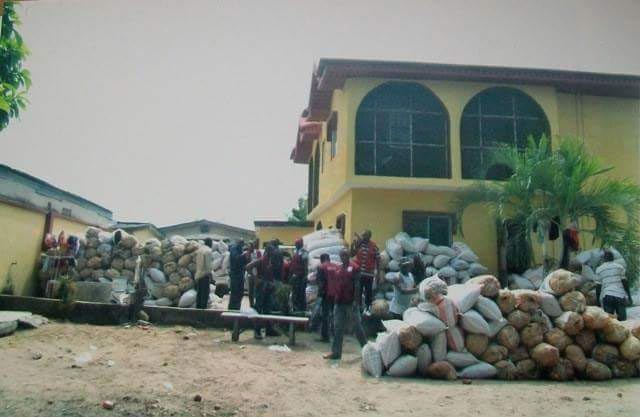 NDLEA discovers warehouse filled with bags of Indian hemp in Lagos State