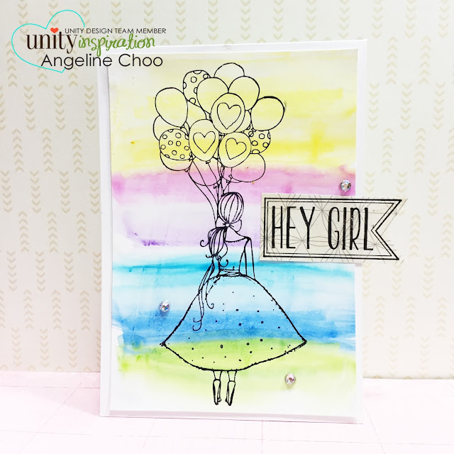 ScrappyScrappy: Unity Hop and Watercolor Craze [NEW VIDEOS] #scrappyscrappy #unitystampco #stamp #card #prima #oilpastel #coloring #watercolor