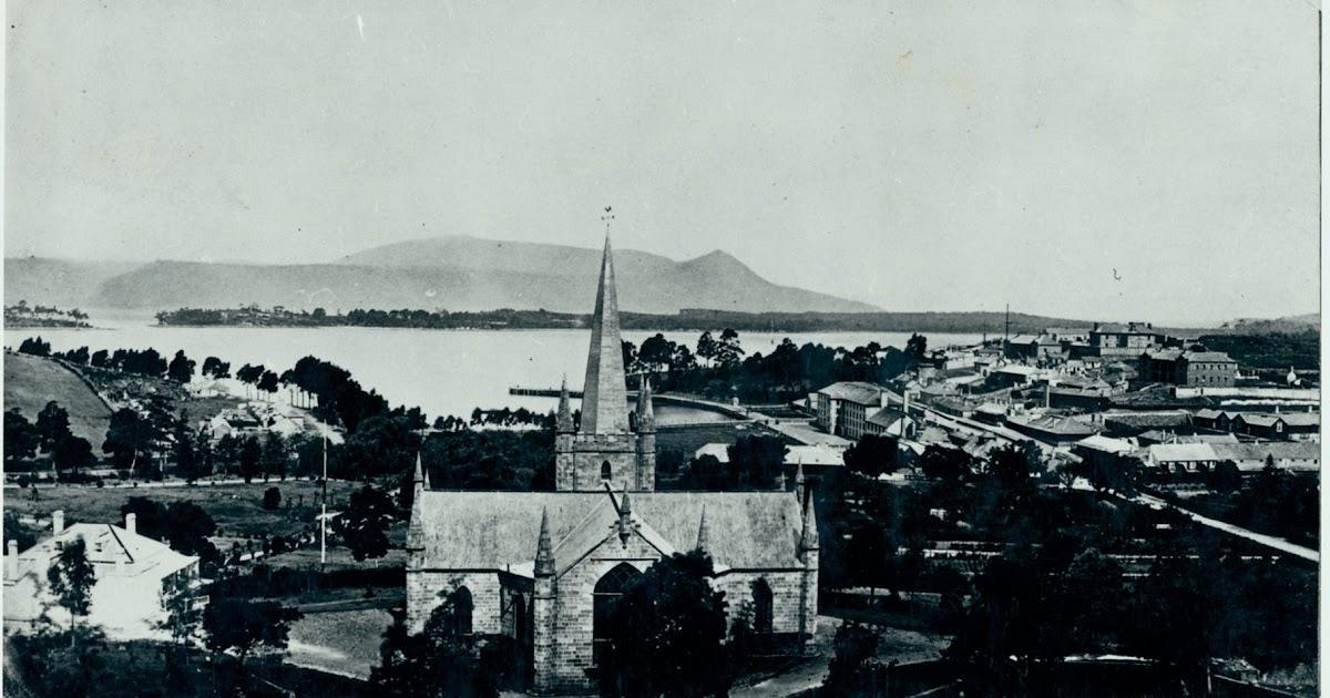 On The Convict Trail: The Convict Church, Port Arthur