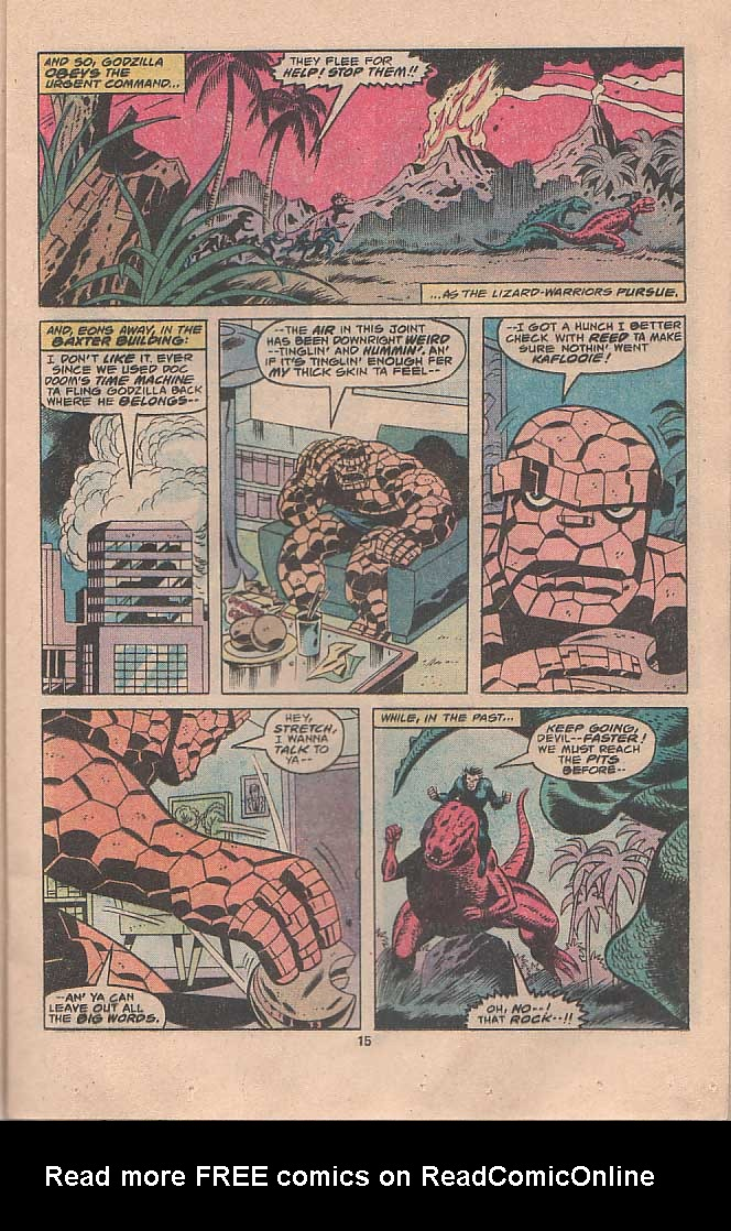 Godzilla (1977) Issue #22 #22 - English 9