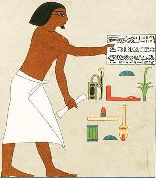 The Royal scribe of Neferhotep
