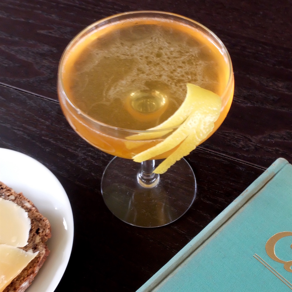 It's Leap day! Make the Leap Year Cocktail.