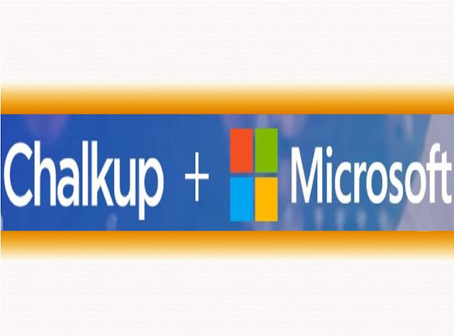 Microsoft Partners Chalkup to make learning more collaborative
