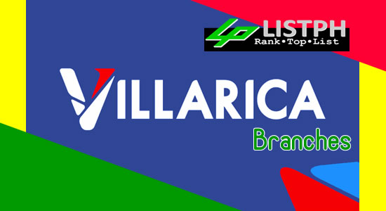 List of Villarica Pawnshop branches
