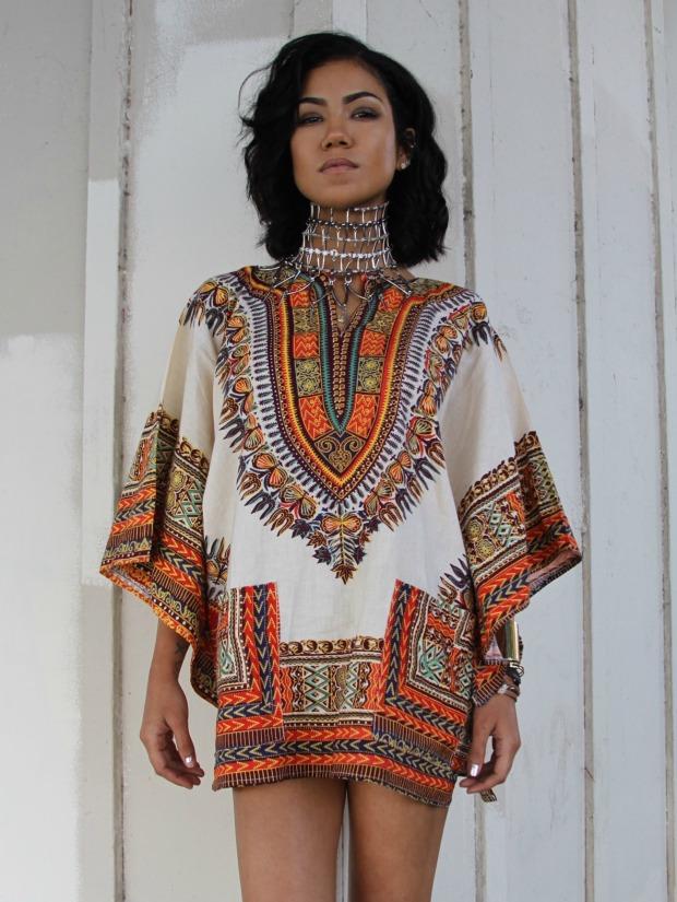 Dressing des 4 Saisons Chanteuse Jhené Aiko Dashiki Elle Canada polémique