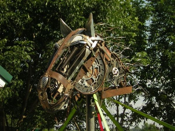 How to Recycle Metal Scrap Animal Sculptures