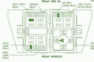 FORD Fuse Box Diagram: Fuse Box Ford 1998 Explorer XLT Diagram