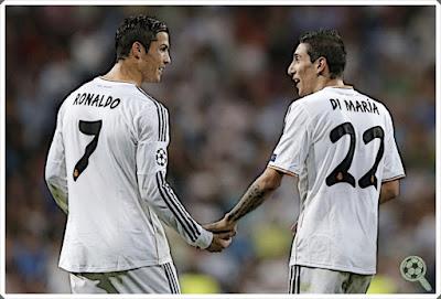 Di María Cristiano Ronaldo Real Madrid