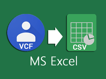 How to Convert a vCard (VCF) to CSV using Microsoft Excel