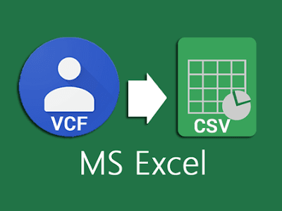 vcf to csv excel