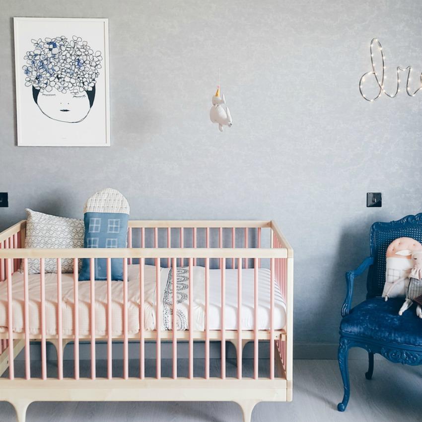 decoracion paredes dormitorios infantiles