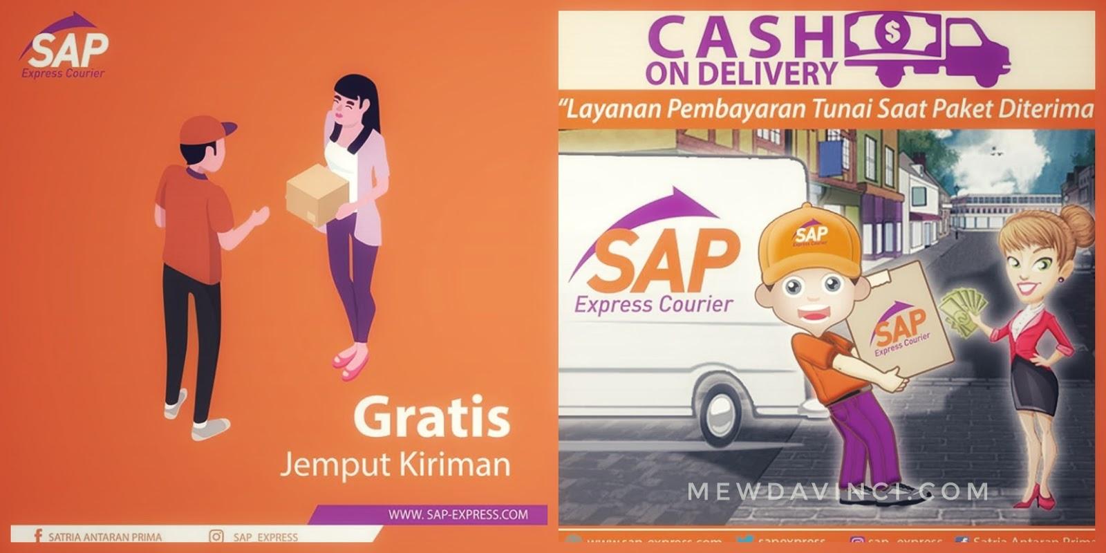 Jasa pengiriman paket/dokumen SAP Express