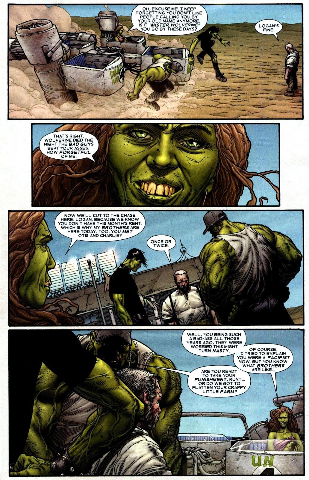 Read online Wolverine (2003) comic -  Issue #66 - 12