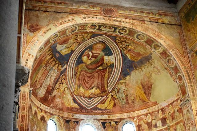 Opera di Vitale da Bologna affresco abside Abbazia Pomposa