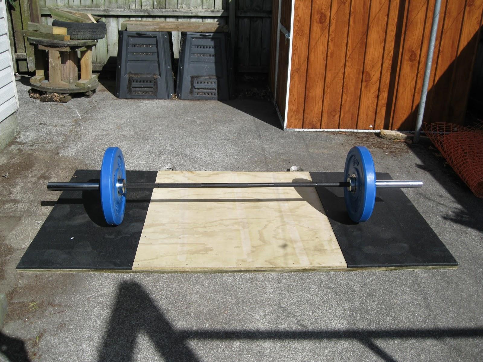 Back To Primal Homemade Lifting Platform