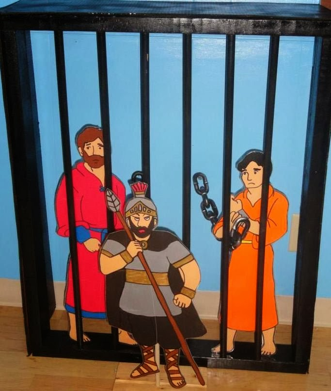 Kids Craft On Paul And Silas In Jail