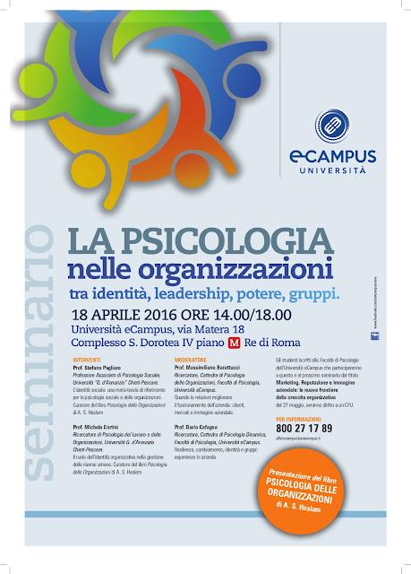 psicologia organizzazioni roma