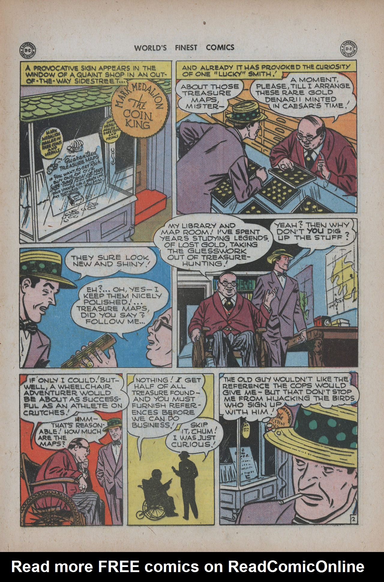 Read online World's Finest Comics comic -  Issue #20 - 63