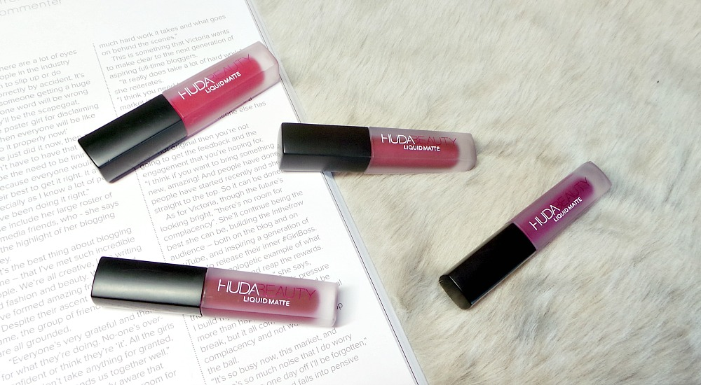 Huda Beauty Red edition Liquid Matte Minis