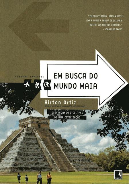 livro Em busca do mundo maia