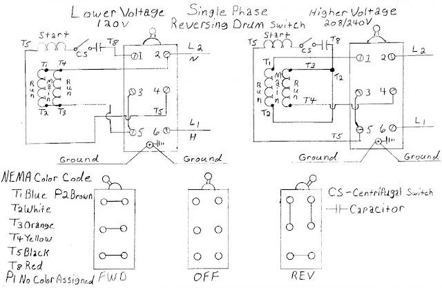 Ac Motor Speed Picture  Ac Motor Reversing Switch