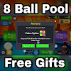 8 Ball Pool Free Spins and coins reward link