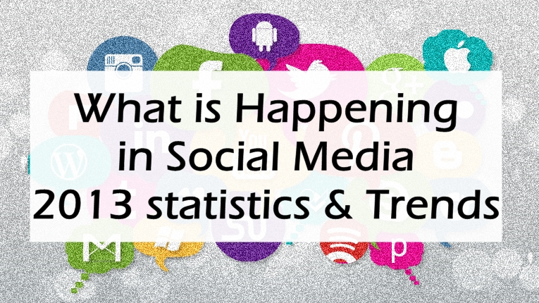 image: What is Happening in Social Media: 2013 Trends & Stats