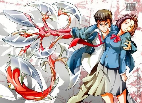 Kiseijuu Sei no Kakuritsu الحلقة 12 مترجمة أون لاين مشاهدة و تحميل حلقة 12 من أنمي الطفيليات مترجم أون لاين