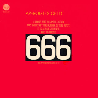 APHRODITE'S CHILD - 666 (1972) front