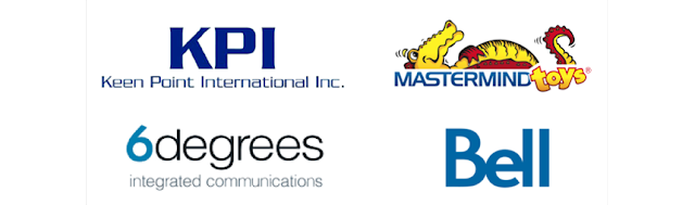 6degrees Integrated Communication, Bell Canada, Keen Point International Inc., Mastermind Educational Toys