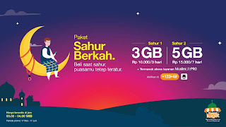 Promo Paket Internet Berkah Ramadhan Tri Terbaru 2018