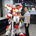 180cm / 5.9 foot Tall Paper Craft: hi-nu Gundam with Full LED effect