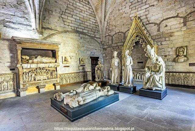 Palácio dos Papas, Avignon, sacristia norte