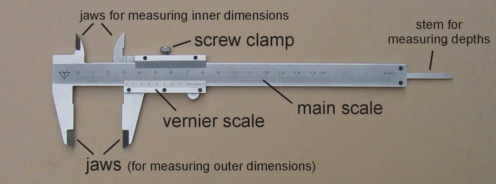 How To Read Vernier Calipers