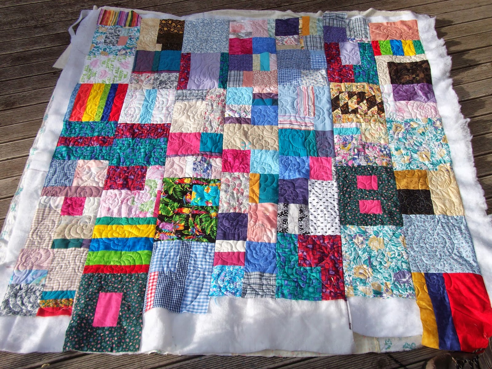 Charity quilting