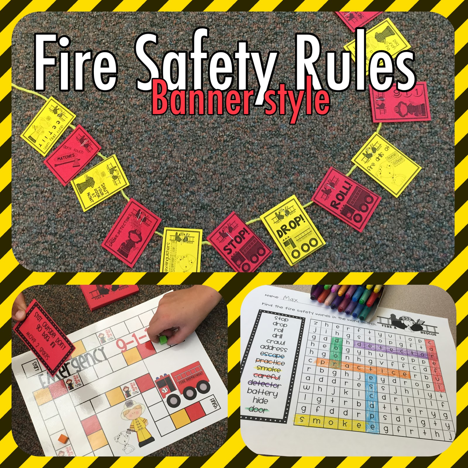 Lory S 2nd Grade Skills Fire Safety Fun Amp Giveaway