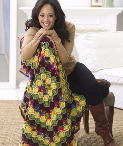 Fiber Flux: Awesome Autumn Afghans! 16 Free Crochet Patterns