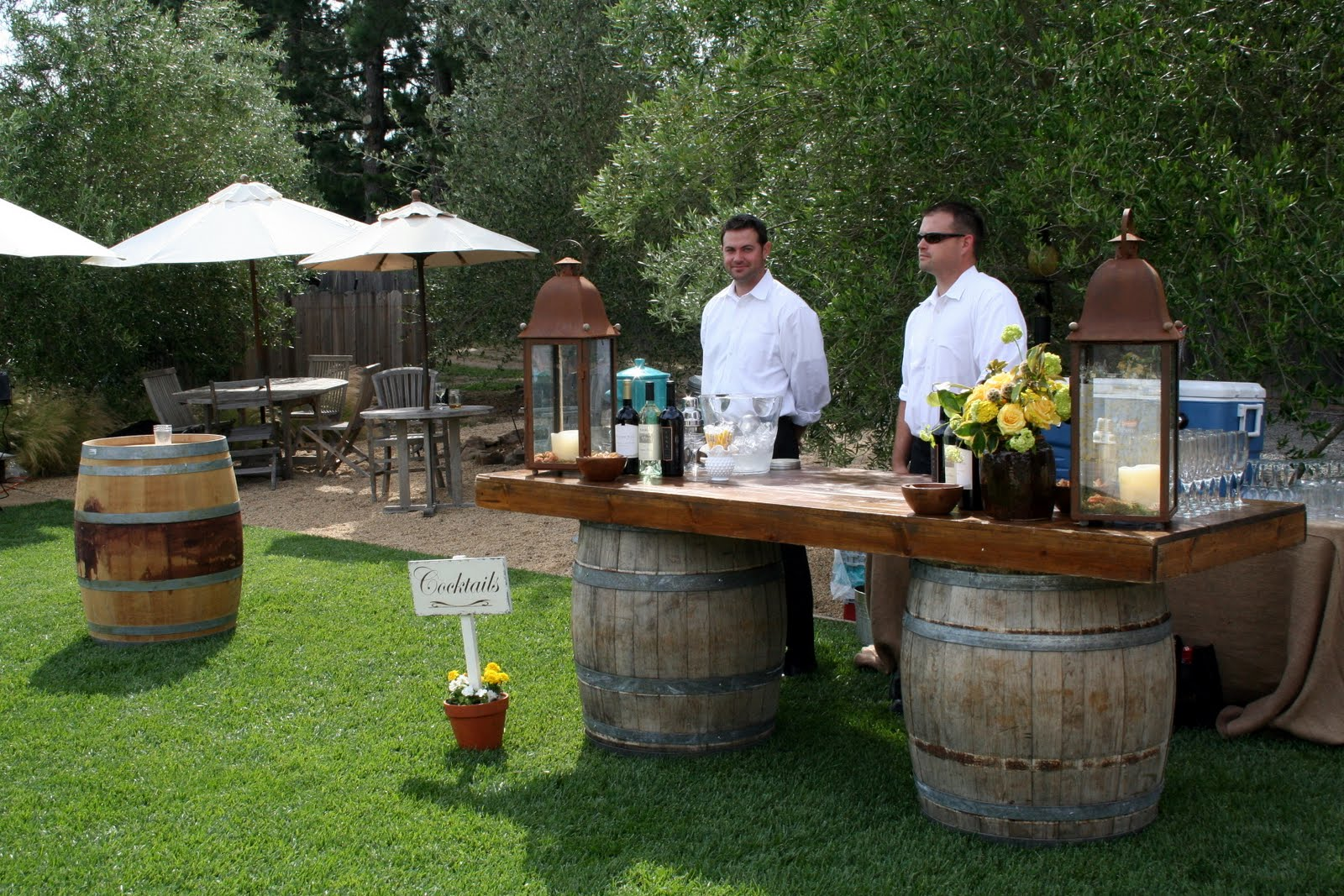 If You're Holding Your Reception At A Winery, Use A Wine